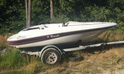 Doral jet boat 90 hp force engine with spare force engine in leg