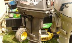 RUNS ON CAN HAS SOME BANGS AND BRUSIES.  DOES NOT COME WITH TANK AND HOSES.   50 TO 1 MIX .  800-716-4316