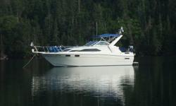 MAR-RON-ER 11 has been a family boat for 14 years and cared for lovingly. She  has been the benefactor of many upgrades?? Completely repainted with Awlgrip in 2003. New Bravo 11 outdrive in 2003. Repowered with a new 7.4 litre Mercruiser in 2004. All new