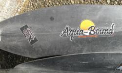 Aqua Bound brand, Carbon composition, 220 cm, kayak paddles for sale.