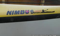 "Lightweight! Has everything else any kayak does. Paddles, sprayskirts, rudder, pump. Sail mount. 20'-6"""