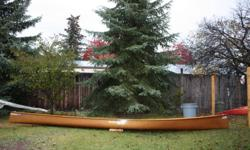 "Seda Kevlar Ultralight Canoe. 18'6"" length. Beautiful wood trim, gunnels, yoke, wood/cane seats.  Ultralight racing model.  No gel coat paint, just the natural beauty and lightness of clear kevlar.  Very stable and very fast canoe.  Amazing tracking"