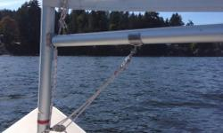 2 sailboats for sale. Both ready to sail. One is a Laser and the other is a slightly smaller vessel, a Byte. I'm 180 lbs and I sail either of them. Great summer fun. Very easy to learn on. I use a dry suit in winter and sail them year round. They fit in
