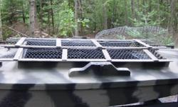I have a layout duck / goose boat for sale that is a low profile boat intended for the solo hunter and his dog. The boat is small enough to fit in the back of a pick up truck. The dimensions: length 10?8?; beam 58?; depth 14?. The boat has never been