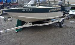 2005 Legend 151 Viper / 25 Hp Merc (Fourstoke) / Trailer in stock at Marsh's Marina.  Call (705) 538 2285 about this late season deal. Recent trade in.   Features: - two seats - livewell - storage - bunk trailer - custom cover - 40 pd minn kota - Lowrance