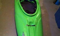 Liquidlogic Jefe kayak in excellent condition. Lightly used for two seasons. Includes large MEC spray deck.