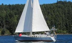 I've lived my dream with Savory, a 42 ft steel John Hutton design cutter since 1981. Now it's your turn. We have been to Haida Gwaii, all over the NW coast, to SF, Baja, and Hawaii. Now you can meet us in Sooke and see if this is a good match. Fully