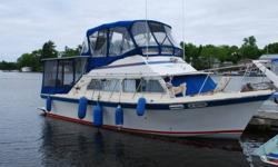 32 foot Luhrs F B. cruiser Twin 318's V drive with 50 hrs. rebuilt in 2002 Sleeps 5 fridge/freezer, stove oven, hot and cold water, shower electric head all enclosed canvas. Located in Kenora, Ont. Call Larry @ 1-204-224-4911
