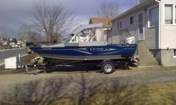 bascailly i cant offerd this boat . getting married and moving.  u have 2 opitions here . im selling the boat for $40.000 obo or take over paymeants, $190 bi weekeley. less i have to take the better. the boat has been winterrized. and has blue shirnkwrap