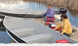 They take convenience and durability to another level. Built with heavy grade aluminum, our fish boats provide a safe and stable ride. Easy access storage compartments allow you to carry all your gear to your destination with little effort. From reeling