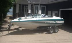 1992 Mariah Shabah 20' inboard 5.7L/190 HP. Open bow. Showroom condition. Always stored indoors. Proudly sits on a 2014 Lund Tandem trailer This boat is a gem.