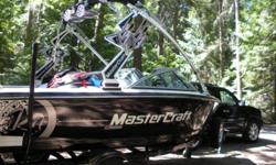 MUST SELL!!! Beautiful, like new, black and white Mastercraft X14. 15-20 hours....barely used. Fully loaded! Boss stereo, tower speakers, board/ski rack, balace system, heated seats, and much more. $45,000.00 obo