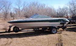 Sea Ray Deville 1989 Deep V Dumb Dumb owner left one drain plug in and caused frost damage to engine. I do not have the tools or time to repair but perhaps you do. Lower end on boat has approximately 30 hours of run time from a professional rebuild at