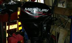 FOR SALE    Mercury outboard 15 hp short shaft 4 stroke. This motor is in great working order. The boat is sold.