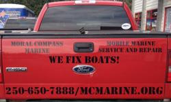 Moral Compass Marine is a fully insured mobile marine business providing marine repair at your location. We will come to you, no need to come to us! We do engine repair, electrical, plumbing, sewage, steering, electronics, winterization/summarization and