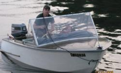 I have a 1965 handmade fiberglass and wood boat for sale or trade.  It has a 1989 yahmaha pro 50hp engine with controls.  The engine is mint, only used two week a year and only used it to get to our spot and trolled the rest of the time. so the engine has