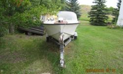 a classic 1967 streamliner boat with a 45 hp Johnson, and a caulkin tilt trailer . the boat is in good shape.. the motor runs well, fast enough too ski behind .  ..will take best offer, some trades possible,, or will sell boat with out trailer .this boat