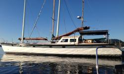 wooden..52 ft motorsailor..is a live aboard..on pin in Brentwood Bay..for any and all info contact Richard at 1-250-896-6306