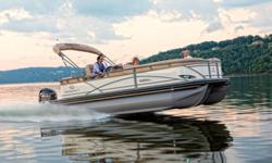 "**LIMITED TIME OFFER** $67,995 w/150L 4Stroke LIMITED TIME BONUS: Upgraded Cover & Fishfinder! Regency 220 DL3 w/200L Verado = $75,995 Includes Sun Tracker 10+Life Warranty ""The Best Warranty in the Pontoon Business""!*Offer Expires End of Month Fill out"