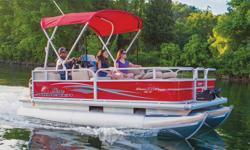 "**LIMITED TIME OFFER** REGULAR: $26,995 - $4000 CASH ALTERNATIVE =$22,995 w/20 ELPT 4Stroke LIMITED TIME BONUS: Upgraded Cover & Fishfinder! Includes Sun Tracker 10+Life Warranty ""The Best Warranty in the Pontoon Business""! *Offer Expires End of Month"