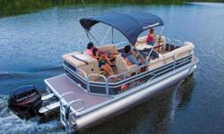"**LIMITED TIME OFFER** REGULAR: $38,995 - $3000 CASH ALTERNATIVE =$35,995 w/60 ELPT 4Stroke Command Thrust LIMITED TIME BONUS: Upgraded Cover & Fishfinder! Includes Sun Tracker 10+Life Warranty ""The Best Warranty in the Pontoon Business""! *Offer Expires"