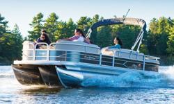"**LIMITED TIME OFFER** REGULAR: $62,995 - $5000 CASH ALTERNATIVE =$57,995 w/150HP ELPT 4Stroke LIMITED TIME BONUS: Upgraded Cover & Fishfinder! Includes Sun Tracker 10+Life Warranty ""The Best Warranty in the Pontoon Business""! *Offer Expires End of Month"