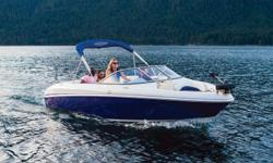 **LIMITED TIME OFFER** REGULAR: $59,995 - $4000 CASH ALTERNATIVE =$55,995 w/4.5L MPI 260 HP *Offer Expires End of Month Deploy the trolling motor and meet the sunrise wth a fun-filled fishing contest. Fore and aft positions ensure everyone has enough