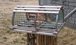 100+ new and slightly used lobster traps. Let me know how many you want and the price you want to pay.  Thank you