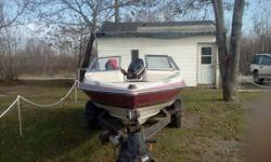 hello i have a 16 foot maximum boat for sale it has 60 evinrude contact for more info thanks