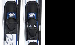 "Brand New Obrien Celebrity Combo Skis   Sizes available: 58"" (kids 2 - mens 7 bindings) 64"" (mens 4.5 - 13 bindings) 68"" (mens 4.5 - 13 bindings)   These skis are perfect for learning how to ski as well as learning how to slalom ski.  The dual tunnel"