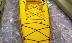 I have two Trident 15 Fishing Kayaks for sale. One is yellow the other is Tan. Boats are brand new and never been used. Seats included. I have another that I used myself all last year (that I am keeping) and they are great boats. Very stable, paddle easy,