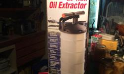 http://www.westmarine.com/buy/west-marine--manual-oil-extractor-6-9-quart--11047123 Oil Extractor for Sail Boats and Power boats. New Oil Extractor 6.5 litres or 6.9 Qt. in the box, never used. New USD 94.99 - please look at web link above.