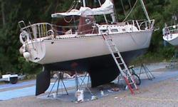 1976 in good seaworthy shape; Now at Gabriola for haul-out then on to Saltspring by weekend June 4 until sold. Will show at Ganges Kanaka by appointment - make sure I have your phone number or email . Has dodger and full cockpit cover and many other