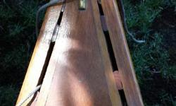 This original 16 foot, cedar and canvas Greenwood canoe first saw the light of day about 40 years ago. Made and raised in Vancouver, she has been meticulously cared for by the original owner. There has been zero restoration, nor is it needed. The pictures