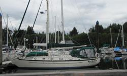 Call 250 716 6578 Price $135,000.00 US Dollars Very good condition Classic offshore cruiser LIST OF MAJOR IMPROVEMENTS 2009 New force ten stove New dripless shaft seal New galley sink New dodger New macerator pump New pressure pump New fridge condenser
