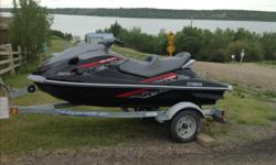 Must sell. 2009 VX1100 Yamaha Cruiser Waverunner Used 23 hours, as new. 3 passenger. New cover and battery. 110 hp. Comes with EZ Load trailer. Fast with great power, pulls tubes etc. Make an offer.