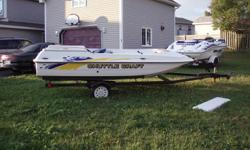 1985 Peterbrough speed boat 19 feet 140H.P. inboard outboard,mercruser includes trailer, lift jackets , water skis. Excellent condition.