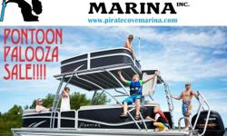 There is still time to save on your purchase of a new Pontoon. Come down and see the difference, we are open 7 days a week!