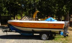 17 FT  power boat, fiber glass, 6 seats, 95 HP, Yamaha engine, brand new battery, 6 life jackets, fish finder , brand new battery, 2 gas  tank 5gal; and more extra stuff...COMES WITH TOWING TRAILER.QUICK SELL FOR ONLY $3,950.00