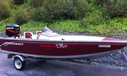 Princecraft DLX Fishing Package!!  Included is Princecraft DLX Aluminum Boat, side console steering, 2 swivel seats that can be moved around the boat, live well and plenty of storage, Motor is a 40 hp Mercury that is like new, equipped with power tilt and