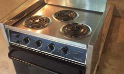 Brand New Electric stove, Princess Brand, never used. I am replacing it with a propane stove on my boat.