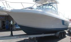 1996 Proline 2950 30' fibreglass boat Twin Sea Maxx 315 hp 5.7L I/O New upholstery New electronics New fridge Trailer included TRADES AND NEGOTIATIONS WELCOME Additional information and photos can be viewed under Boats on our website : www.atlanticrv.com