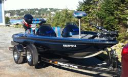 FOR SALE Dual Console 1998 RANGER R73 Bass Boat with Matching Ranger Trailer.  This boat rides like a dream and is the perfect boat for our NS lakes.  I am only selling because I have upgraded. 115 HP Mercury Motor maintained by Hanley Marine Hot Foot