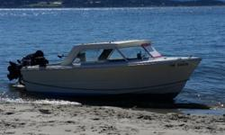 """Recently dropped price. Equipped with 2014 df 140 Suzuki (low hrs) and 2014 9.9 suzuki kicker w. Electric start. Great fishing boat ready to go for salmon and Hali. Comes with 2 Scotty downriggers w. 2 15 lb balls. 5"""" Lowrance gps / sonar, life jackets,"""