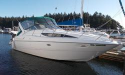 REDUCED from 46,900 !!! This is a beautiful place to boat - Why not on a very popular Sunbridge from Bayliner offering roomy accommodations for family or friends. Open layout with separate fore and aft berths, good size head with shower and a large