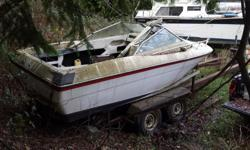 20 FT. Reinell. Speed Ski boat Hull. New stringers at a cost of $1000, Comes with 302 Ford. Great candidate for a high performance motor. First reasonable offer. Without Trailer