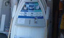 "Walker Bay WB8 Rigid Dinghy with Grey Seats NEW Regular $974.00 Promo price $879.00 Length Over All: 8'2""/251cm Beam: 4'9""/132cm Weight: 71lbs/32kg One piece high impact marine composite hull Seats with positive floatation Wheel in the keel Stainless"
