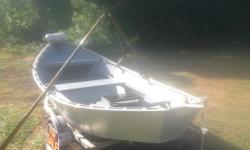 16 feet Oars Winch Down Rigger Bases Rod Holders Adjustable Oar Locks