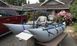 For sale great condition river fishing craft comes with depth sounder and some other things.