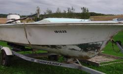 13 foot Royal Scott water-ski boat.  Stainless steel tow bars.  140 h.p. electric tilt and trim Johnston with approximately 80 hours use.  Three S.S.T. stainless steel props.  Water skis, tow rope, life jackets, three fuel tanks, two gallons of outboard